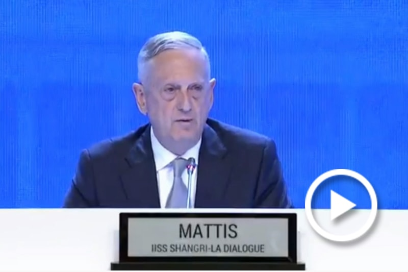 Screen grab of Mattis