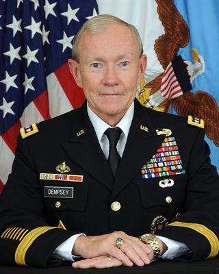 Profile photo of Chairman, Joint Chiefs of Staff Dempsey